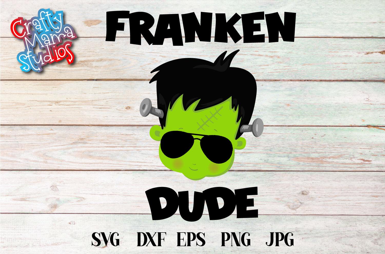 Franken Dude SVG Frankenstein Sublimation, Halloween Monster example image 2