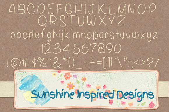 Font No.19, No.20 and No.21 example image 3
