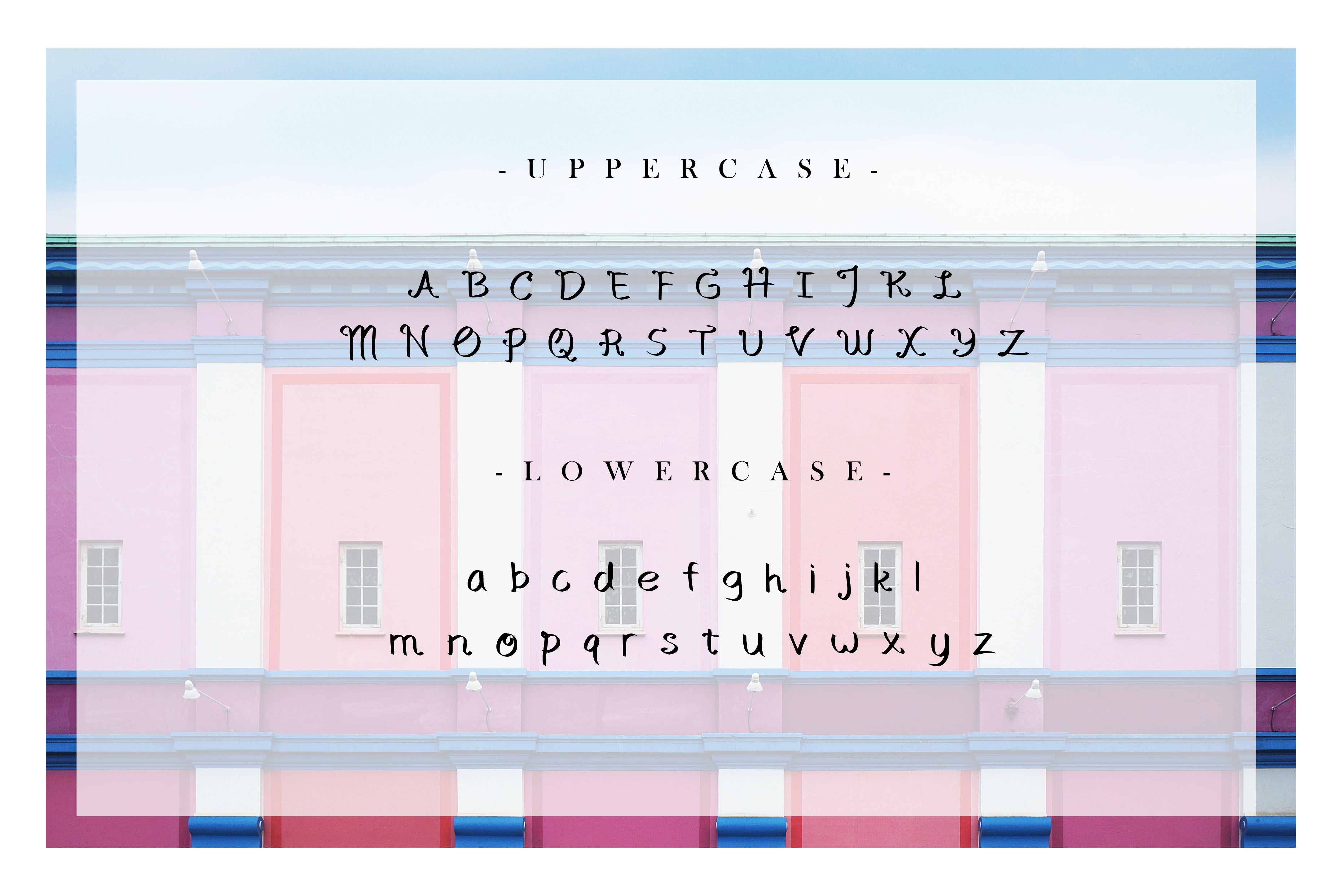 The Grand Budapest Font example image 2