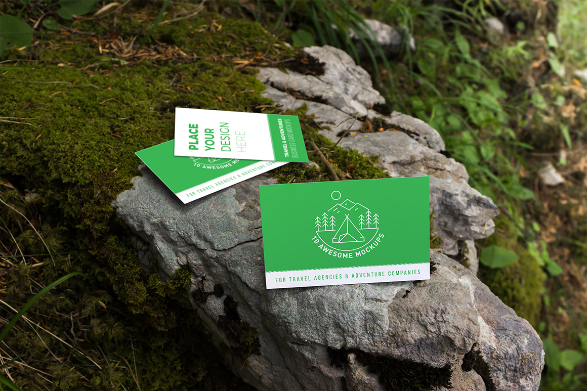 10 Fresh Business Card Mockups vol.2 example image 9