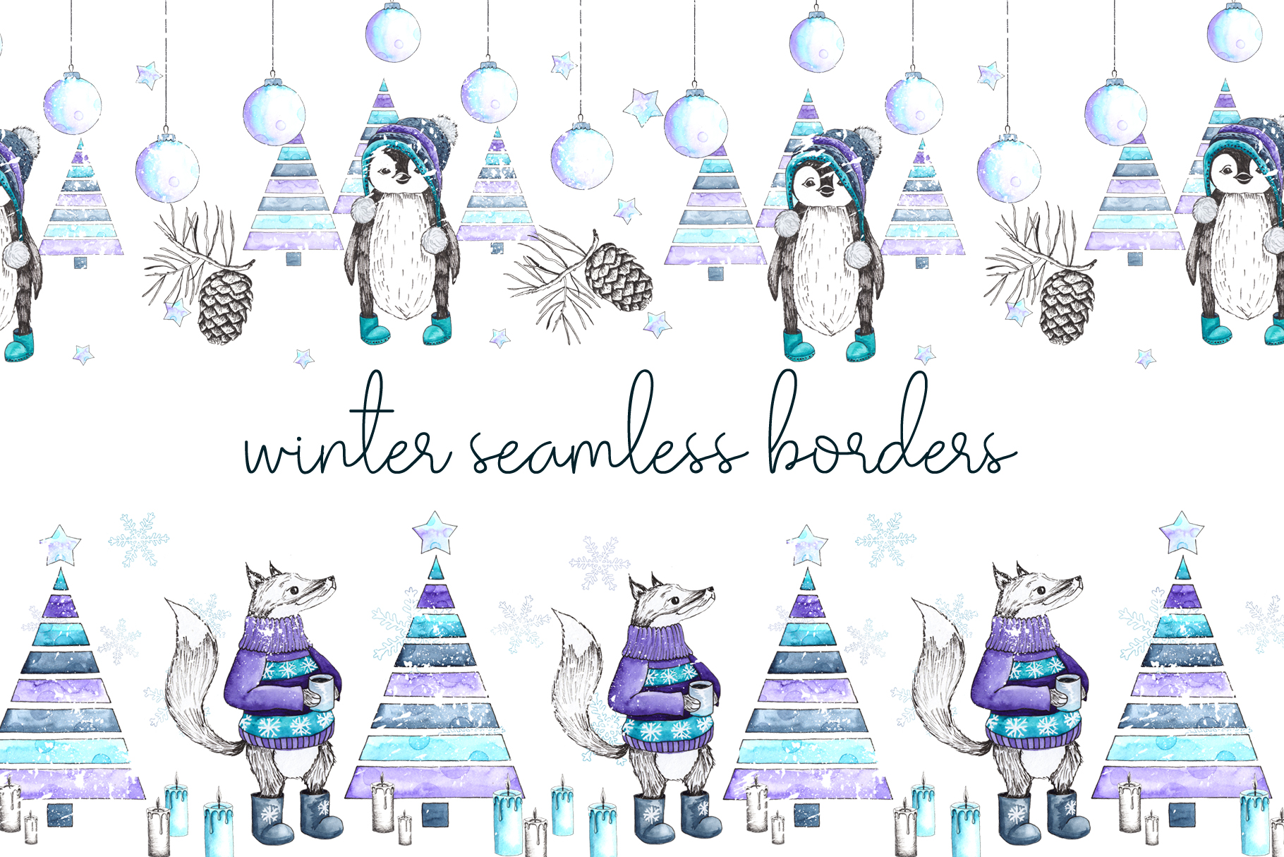 Let it snow. Winter collection example image 7