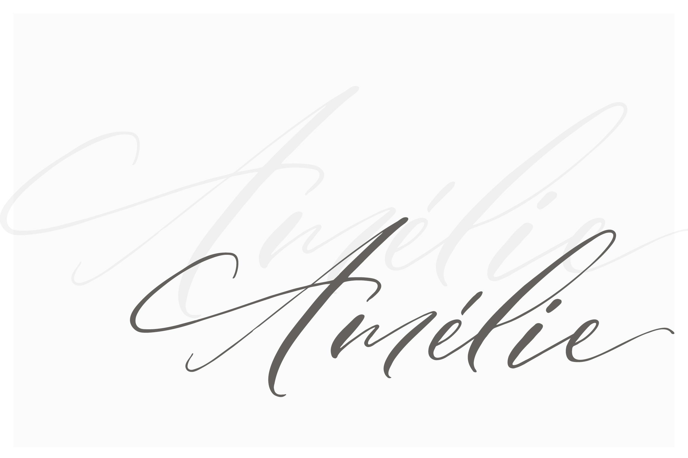 Amélie Script example image 15