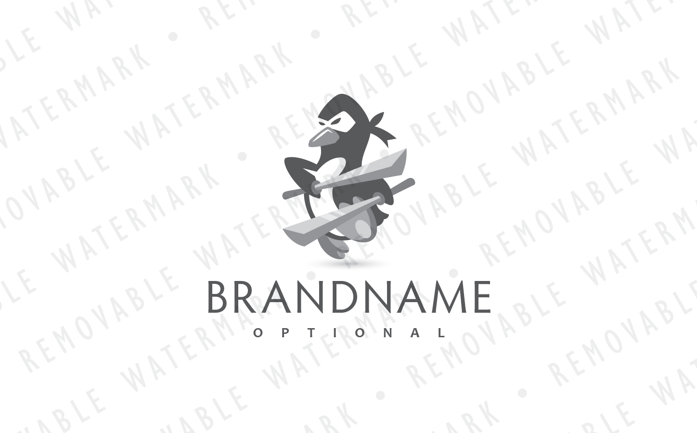 Ninja Penguin Logo example image 4