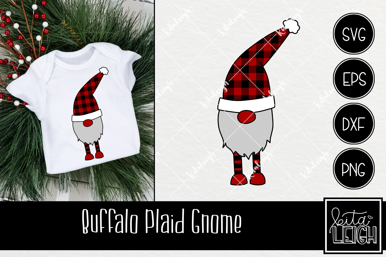 Buffalo Plaid Christmas Bundle SVG example image 8