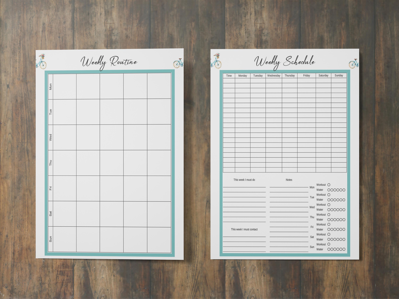 Life Planner Binder, Goal Planner Printable, Life Organizer example image 3