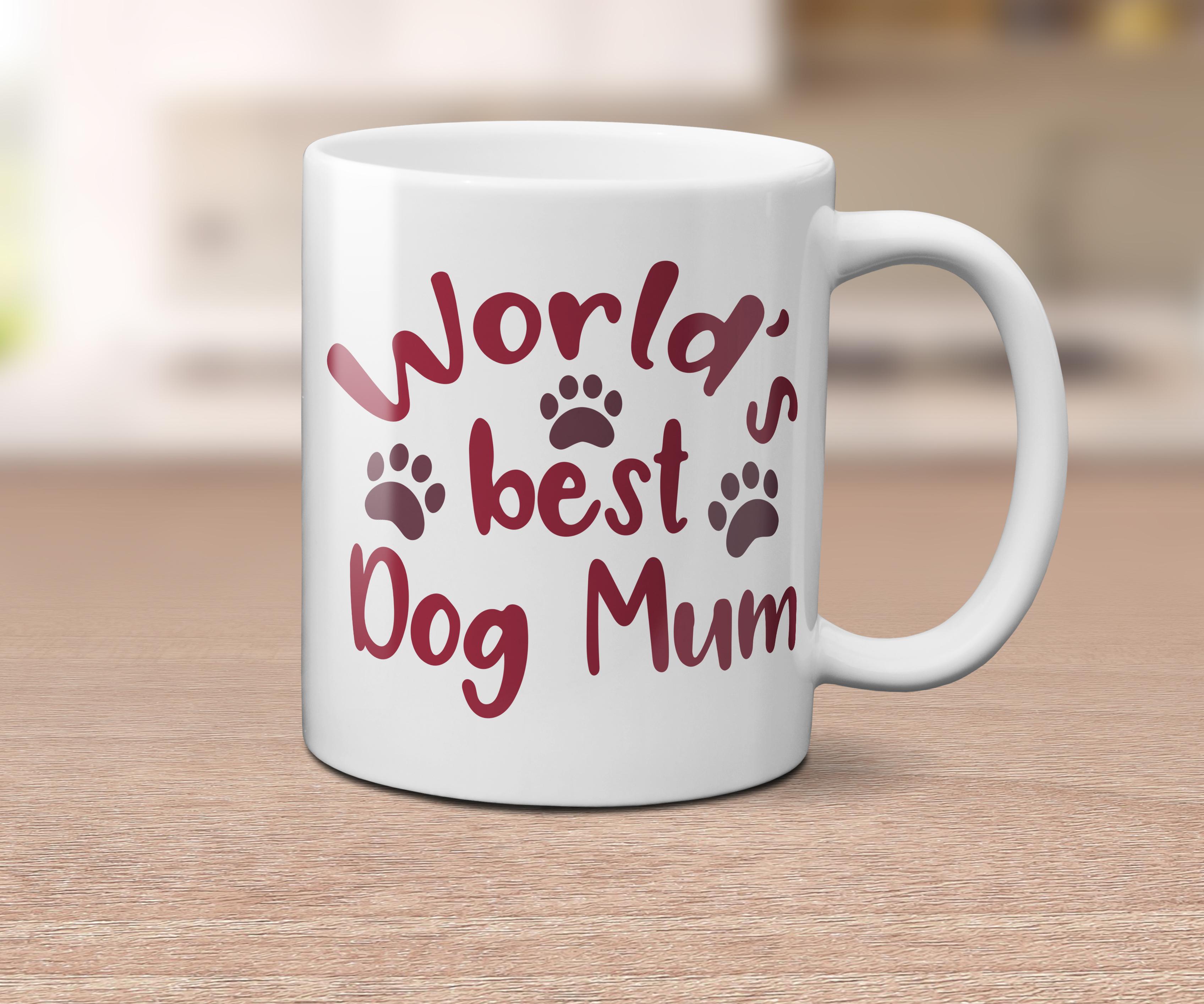 World's Best Dog Mom / Mum example image 2