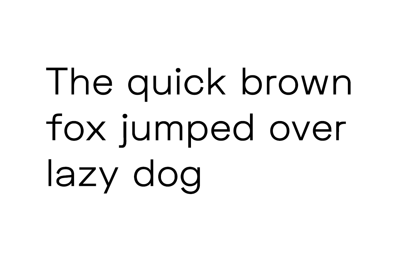 Mriya Grotesk - Authentic Sans-Serif Typeface example image 2
