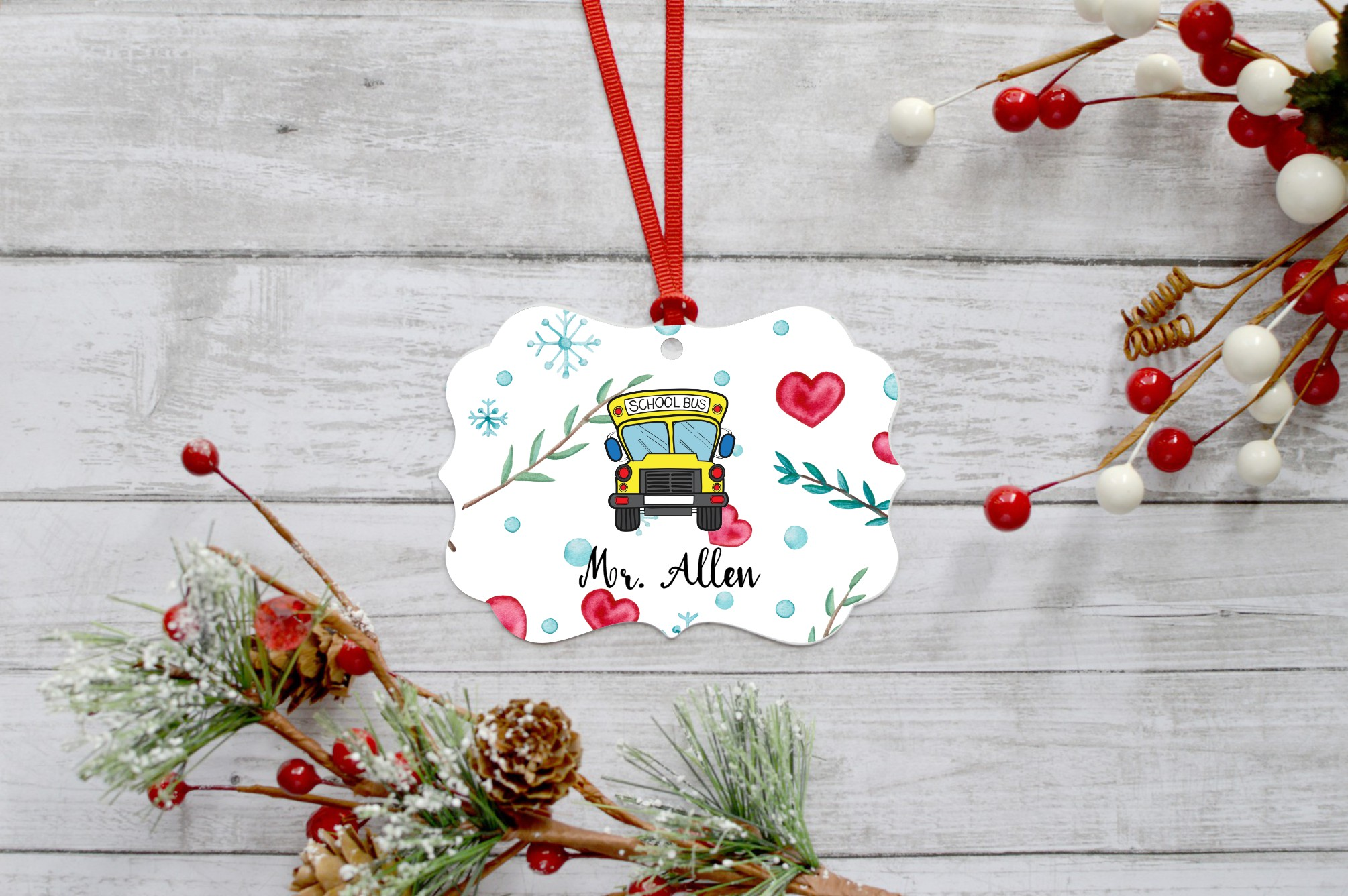 Christmas Ornament Bundle, Perfect for Sublimation example image 3