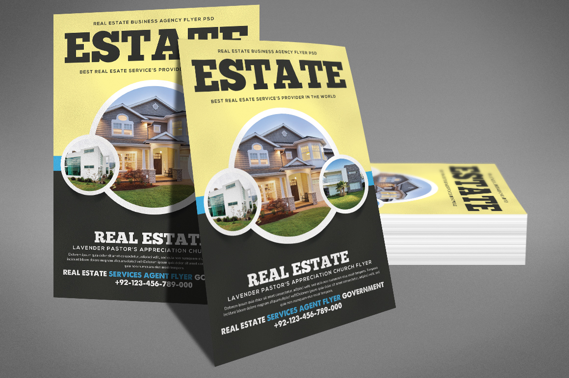 Home Real Estate Flyer example image 3