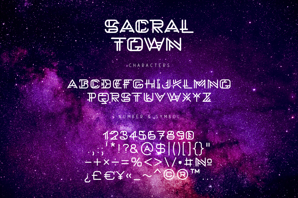 Sacral Town example image 5