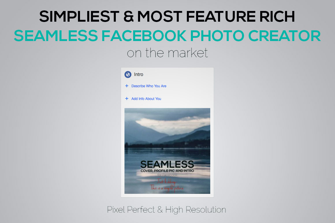 Seamless Facebook Photo Creator example image 7