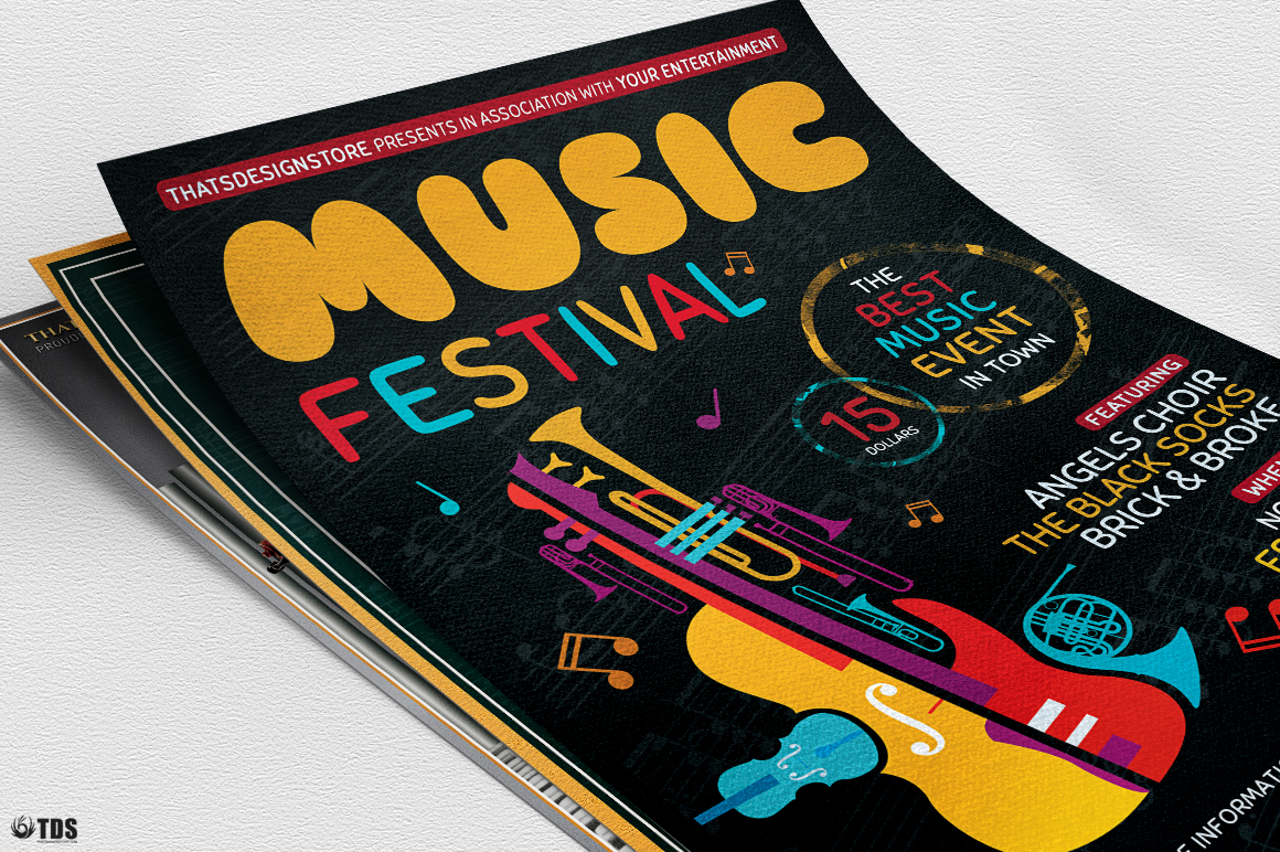 Special Orchestra Flyer Bundle example image 5