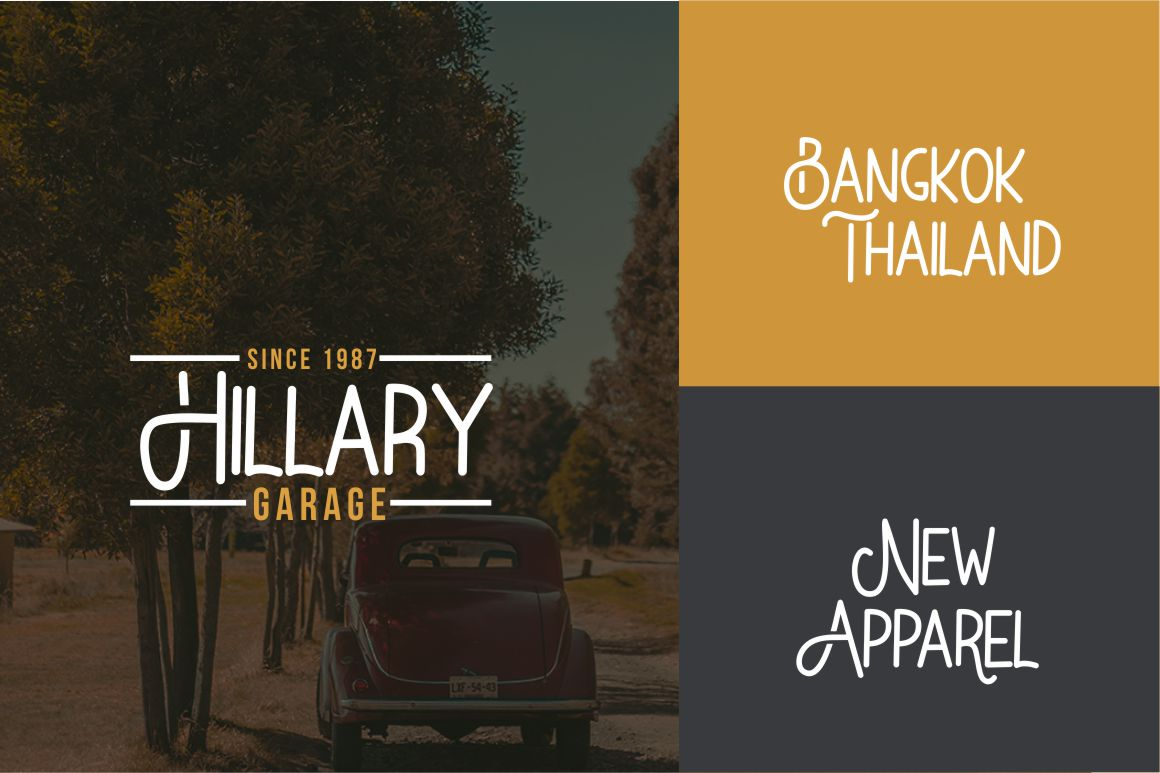 Bataler - Vintage Font example image 3