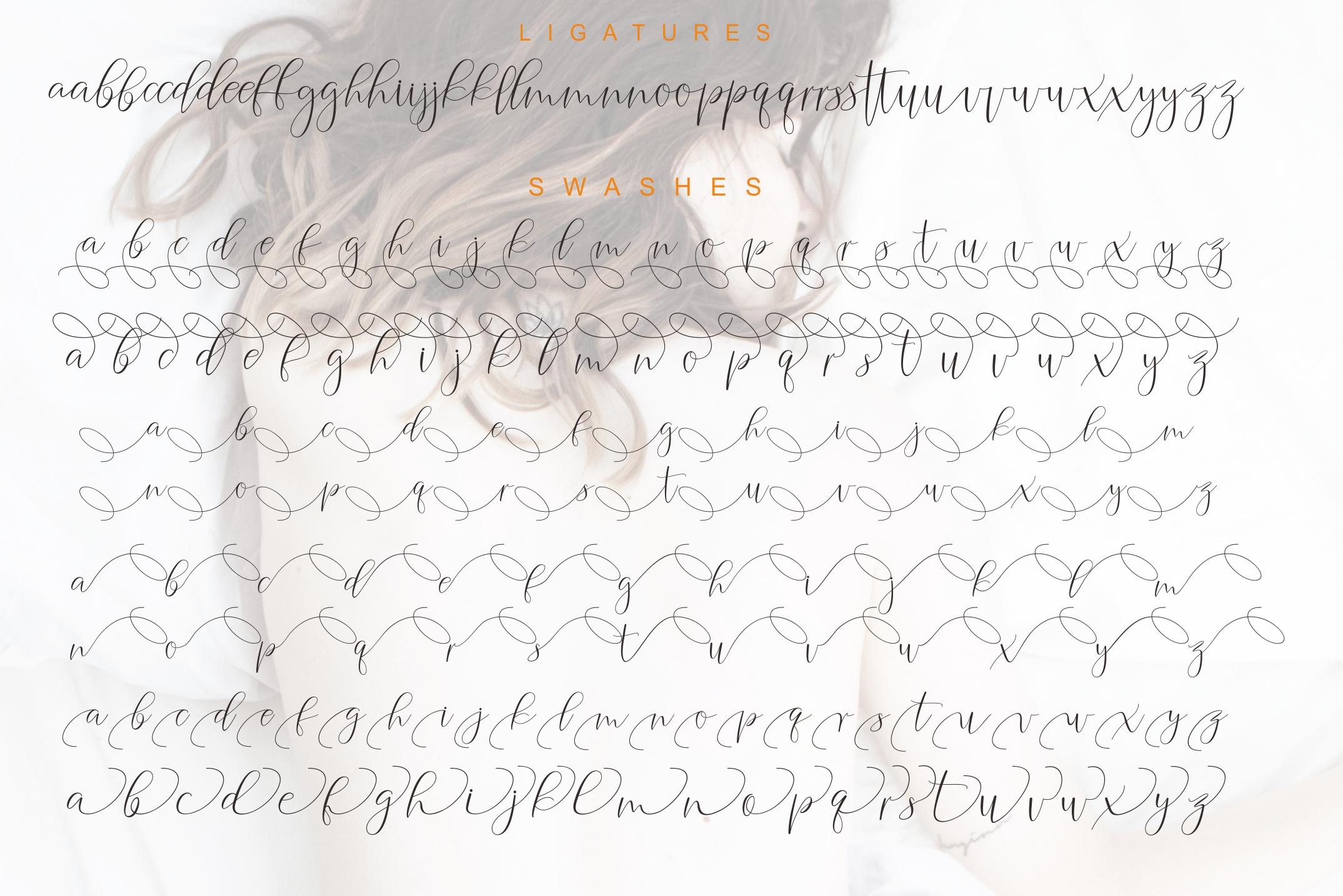 Agelysha Script example image 10