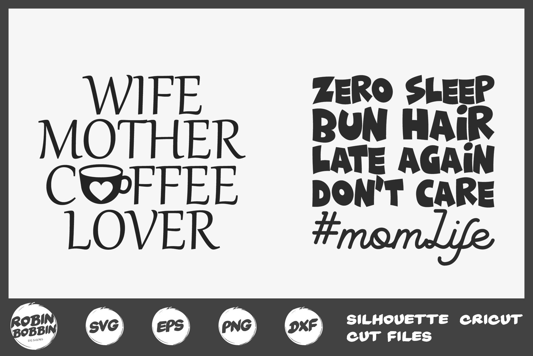 Mother's Day Bundle svg, Mom Life Bundle, Big Mother Bundle example image 9