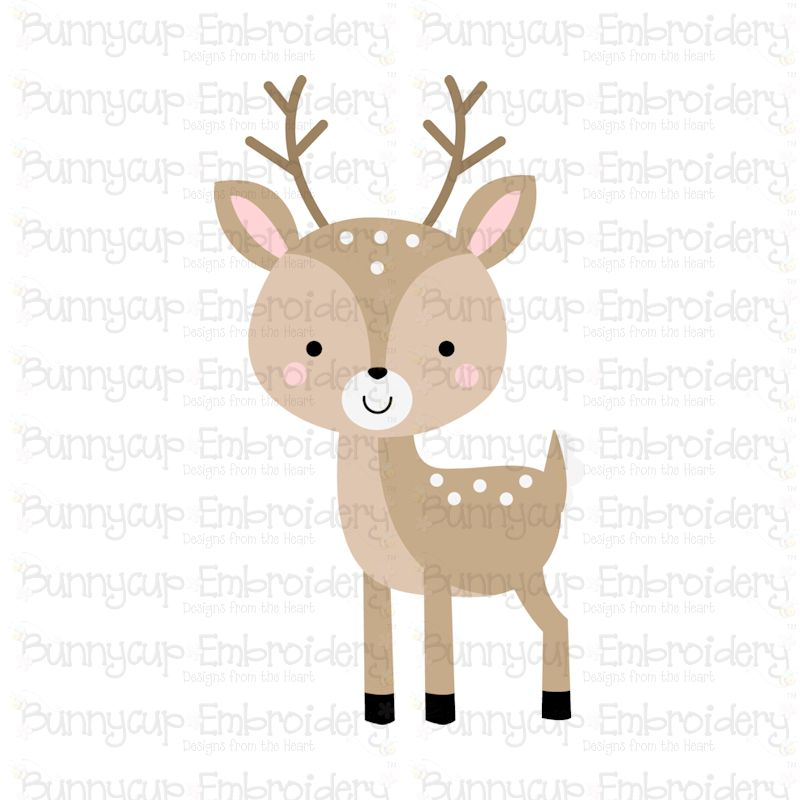 Boxy Forest Animals - SVG, Cut Files, Clipart, Printables example image 4