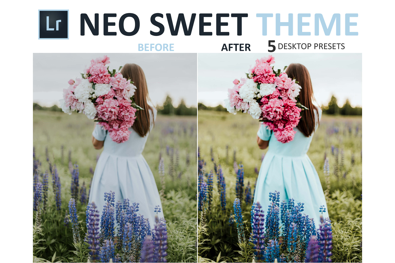 Neo Sweet Theme Desktop Lightroom Presets example image 5