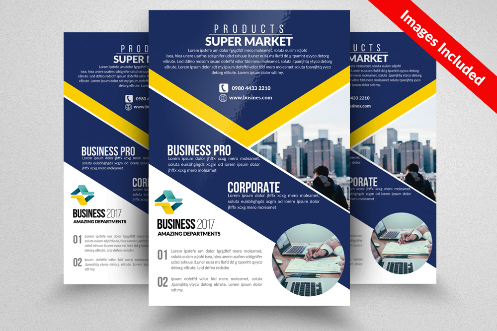 Business Firm Flyers Templates example image 1