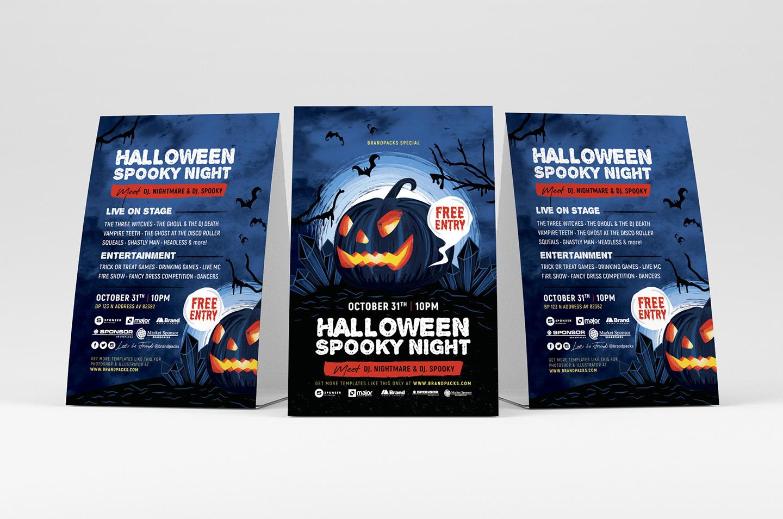 Halloween Flyer Templates example image 2