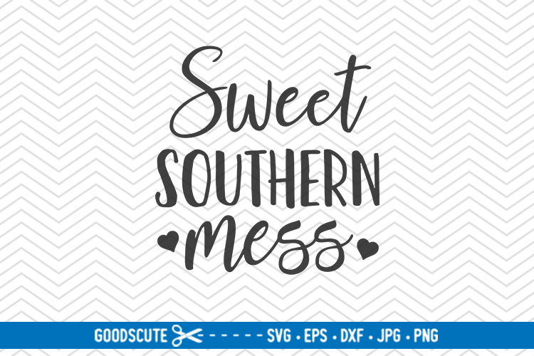 Sweet Southern Mess - SVG DXF example image 1
