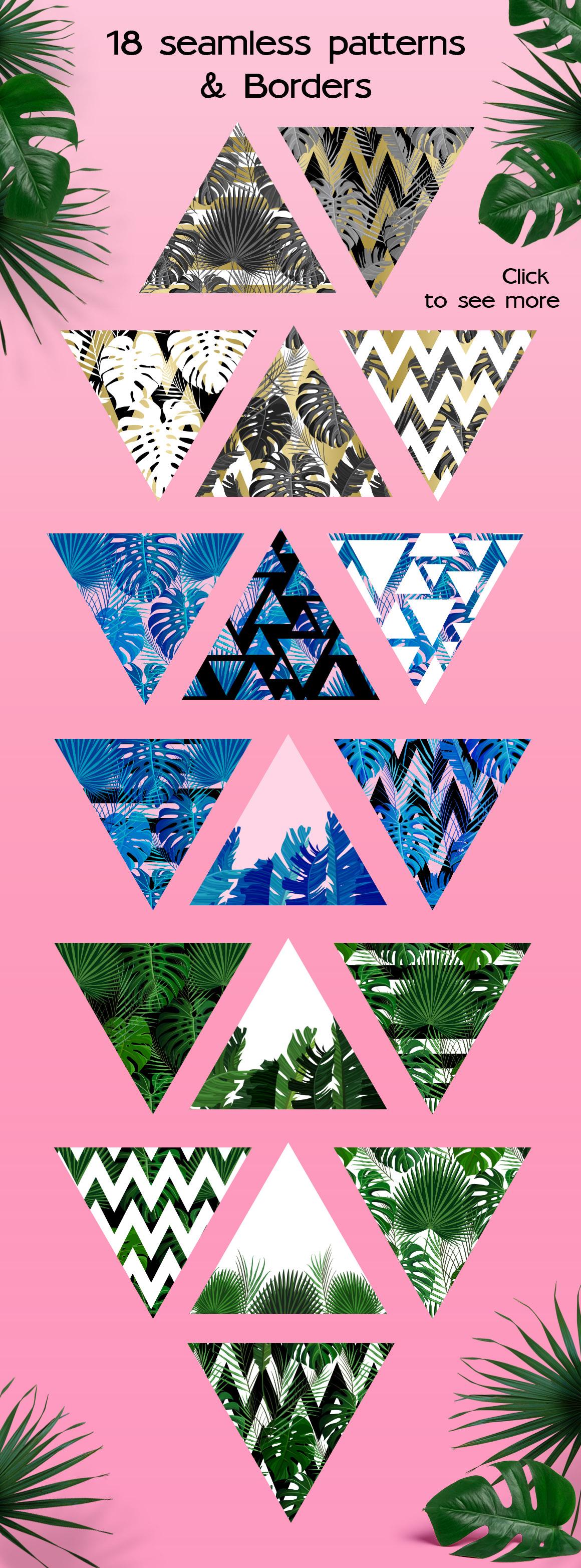 Tropical Summer Patterns + Bonus! example image 2