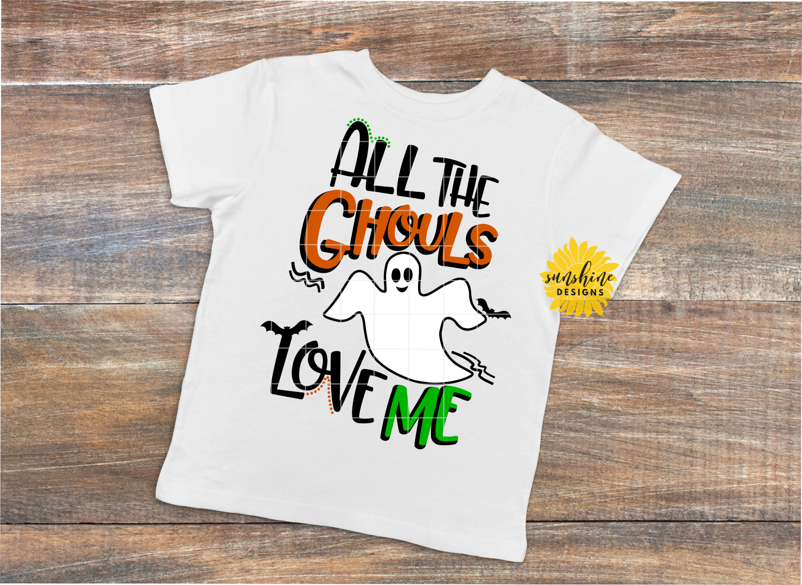 Download ALL THE GHOULS LOVE ME  Halloween SVG DXF PNG (125055 ...
