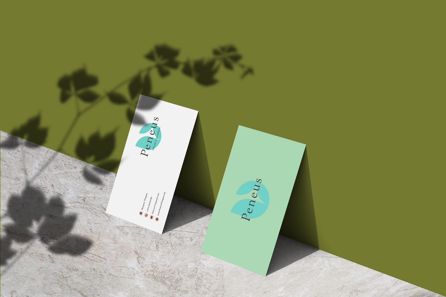 Businesscard Mockups example image 8