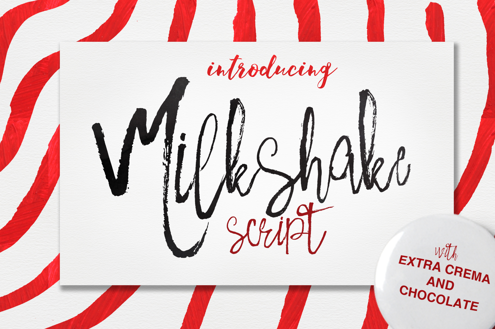 Milkshake and Extras example image 1