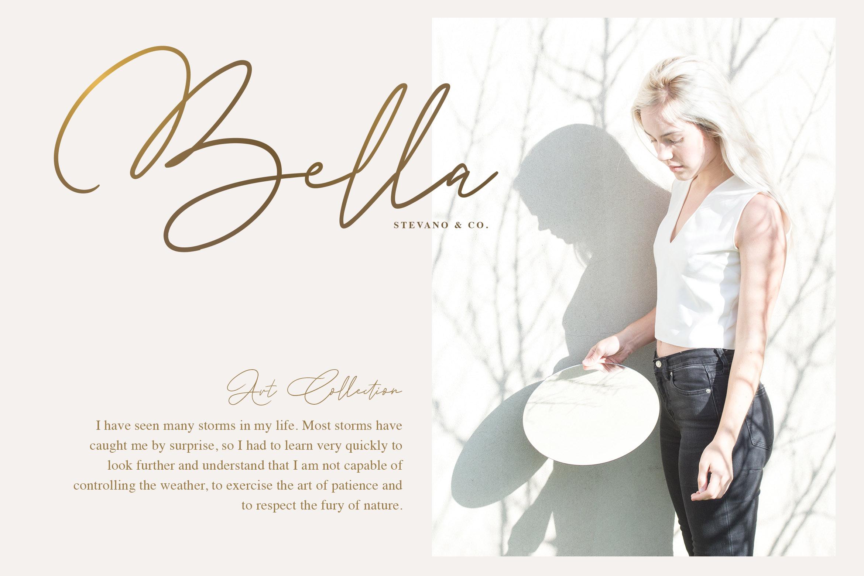 Andrea Belarosa - Beauty Font example image 4