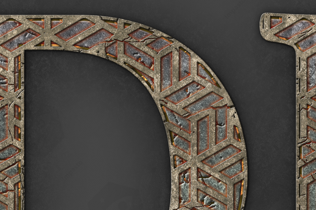 Dungeon TextFX example image 13