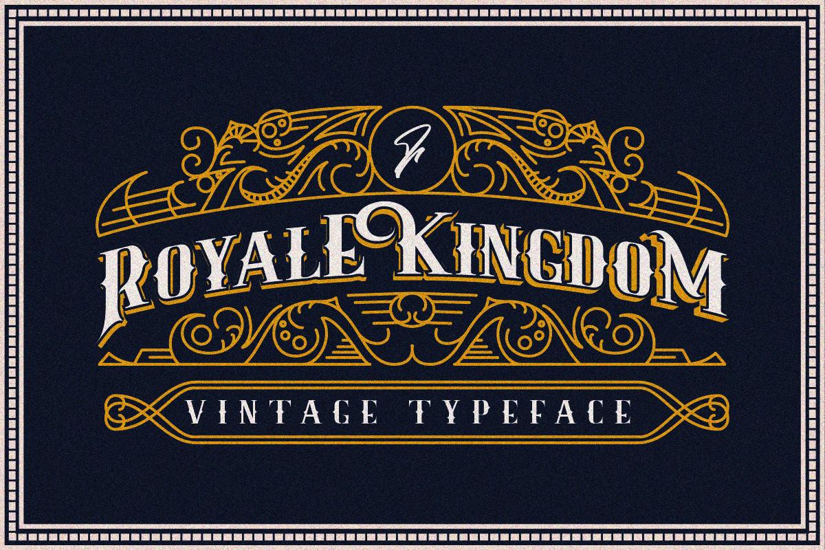 Royale Kingdom ~ Vintage Typeface example image 1