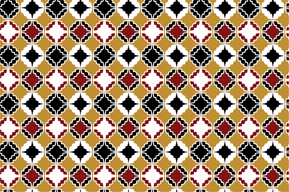 Retro ornamental patterns. example image 8