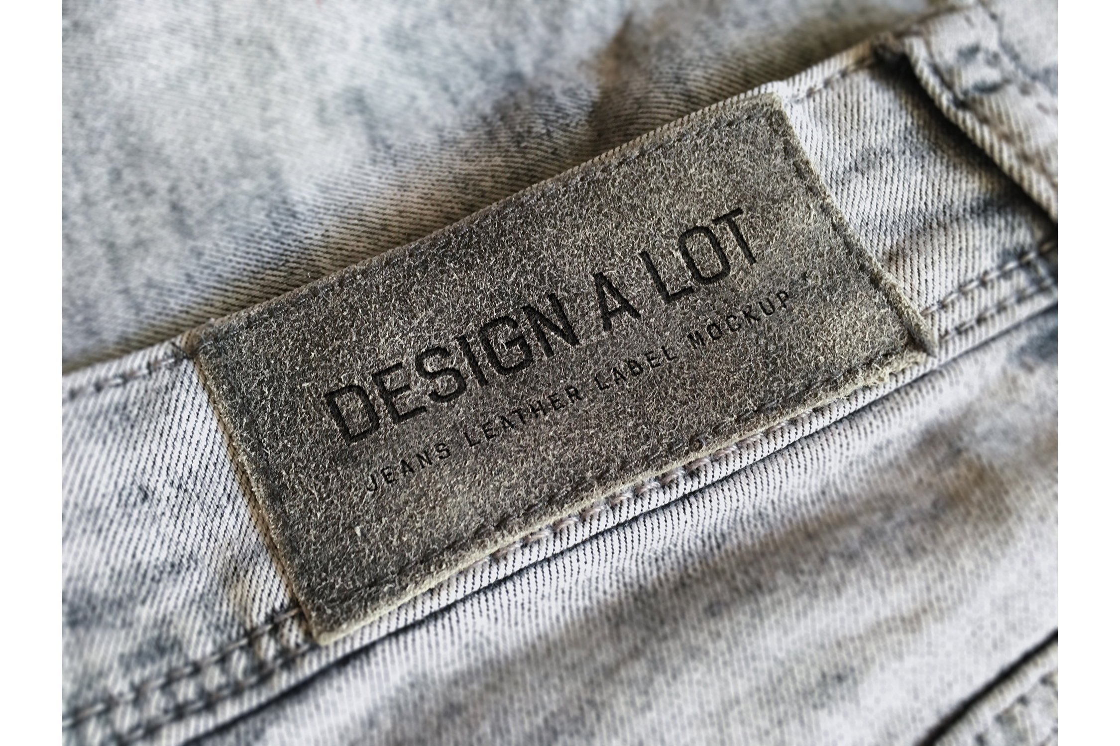7 Jeans and Pants Label Mockups example image 4
