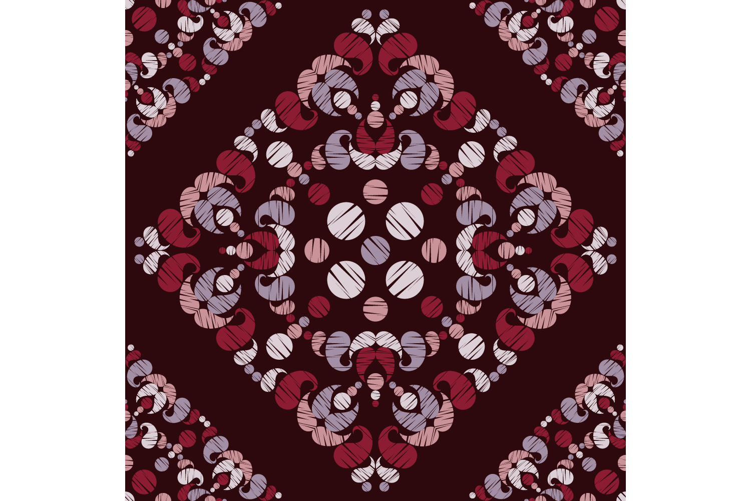 Paisley ornament. Set of 10 seamless patterns. example image 2