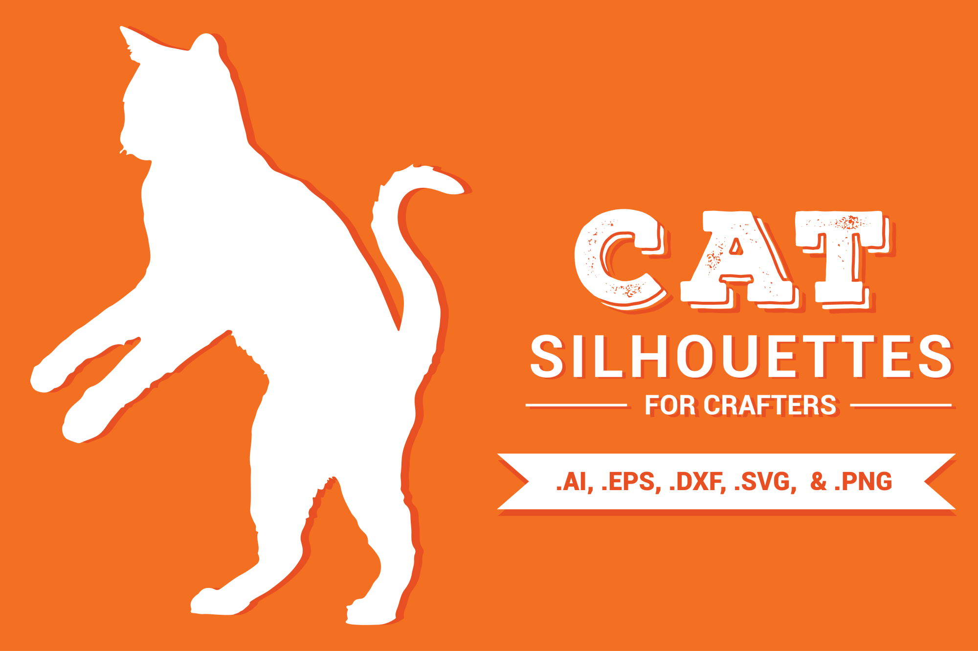 Cat Silhouettes for Crafters example image 1