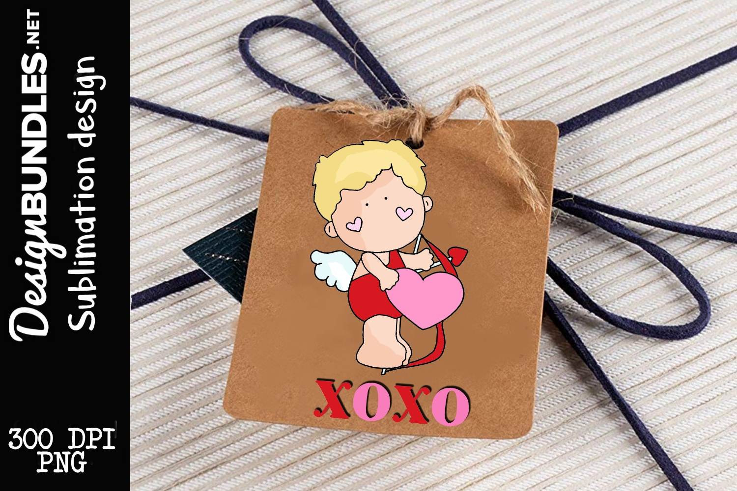 Little Cupid-Valentines Day Sublimation Design example image 1