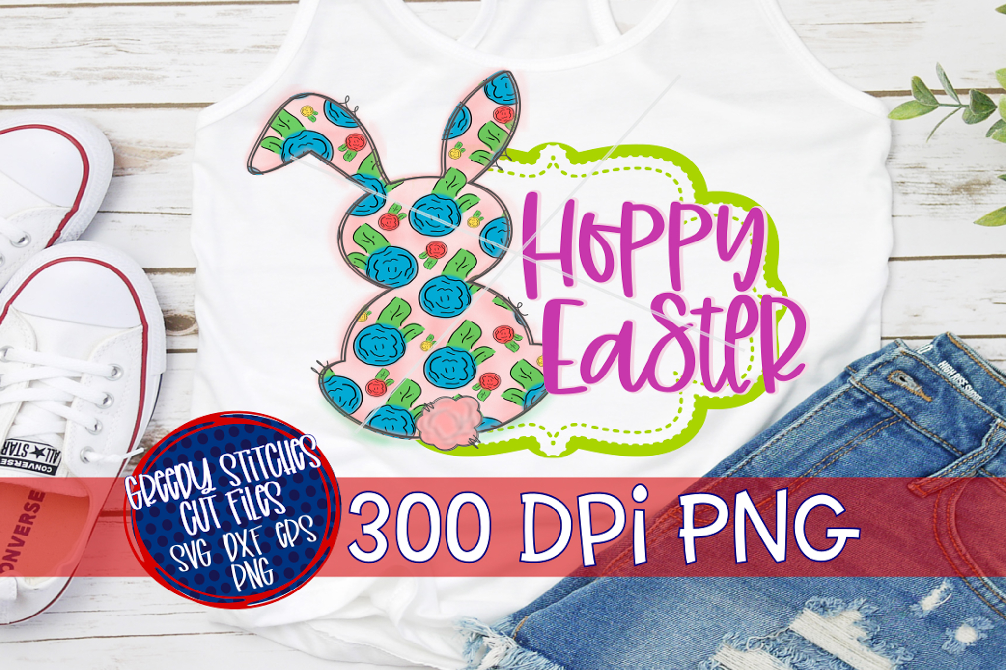 Easter PNG | Hoppy Easter PNG For Sublimation example image 4
