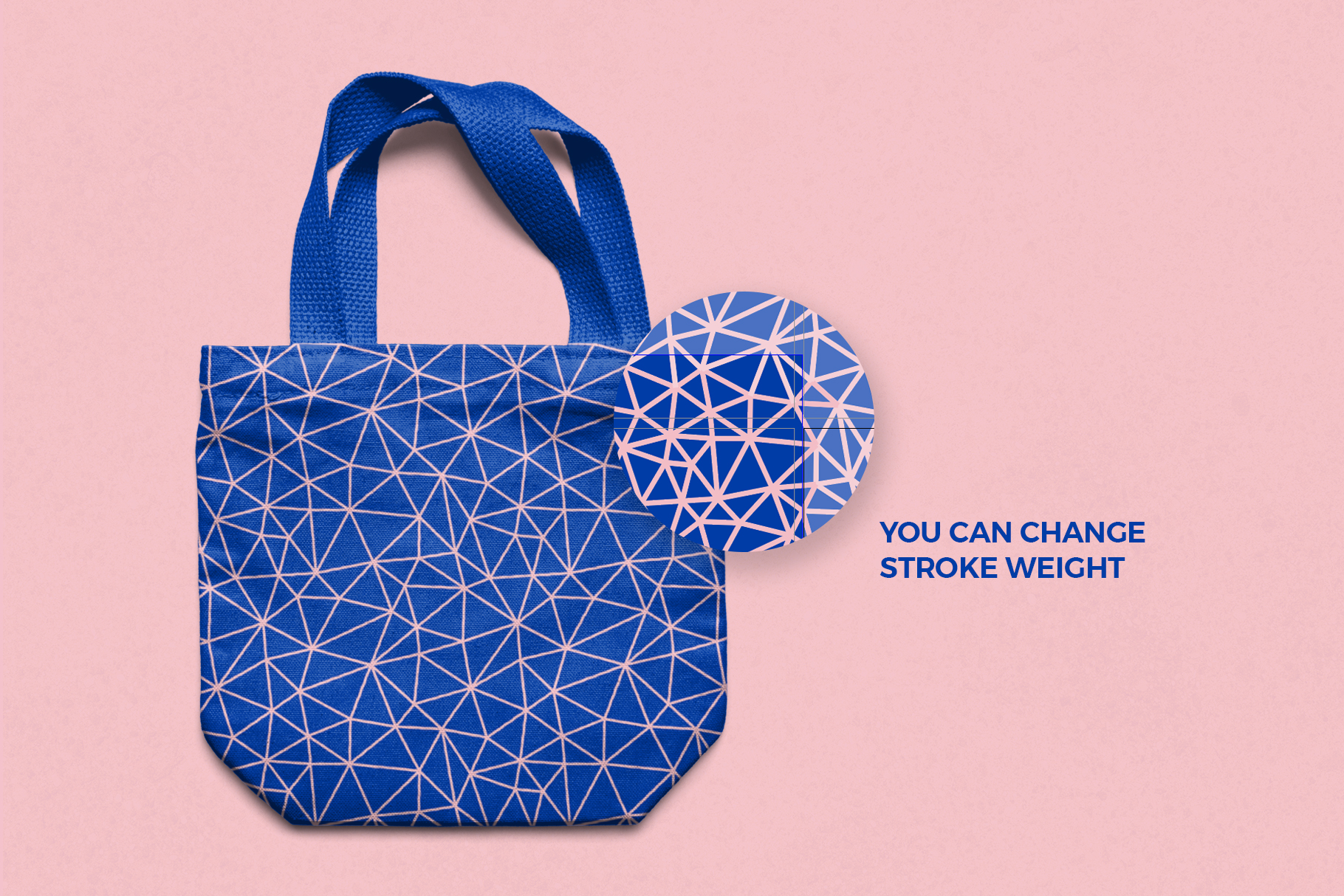 Low Poly Seamless Patterns example image 2