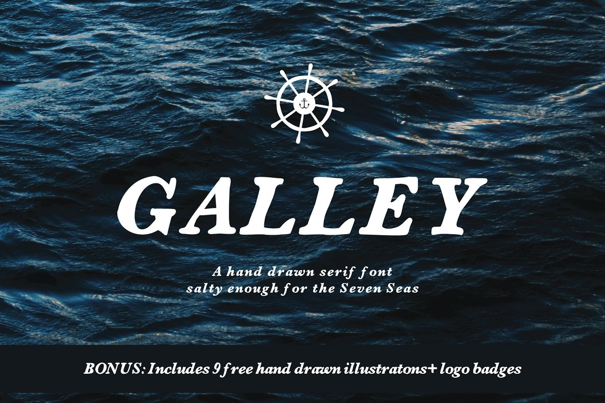 Galley | Serif Font example image 1