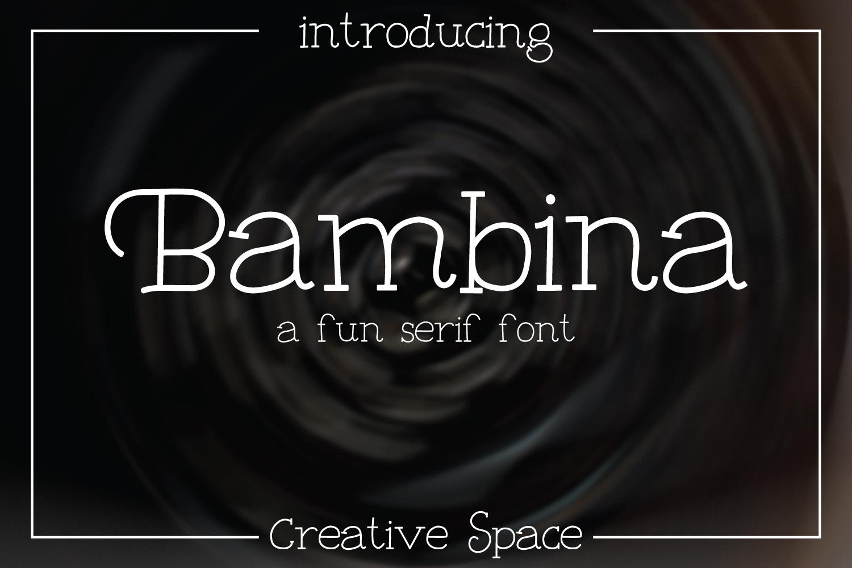 Bambina example image 1
