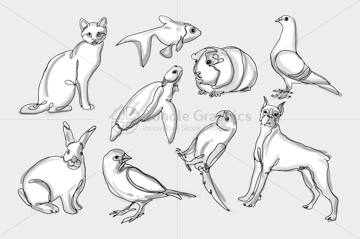 Animals & Birds Graphics example image 2