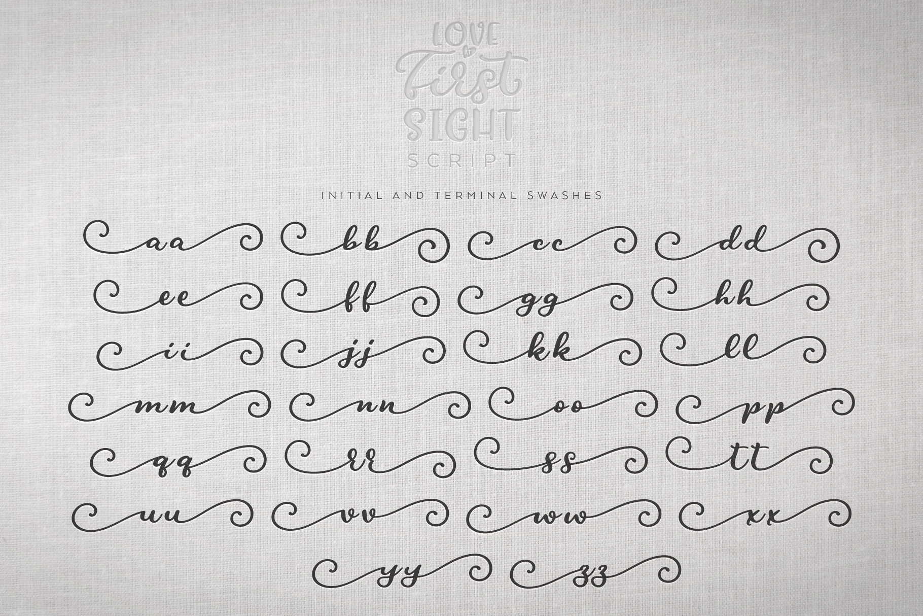 Love At First Sight Font Duo & Extras example image 14