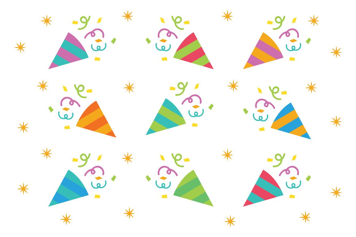 Happy Birthday Party Clip Art Set example image 6