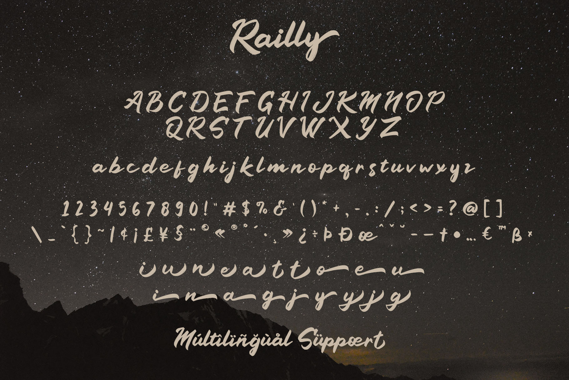 Railly - Handwritten Script Font example image 4