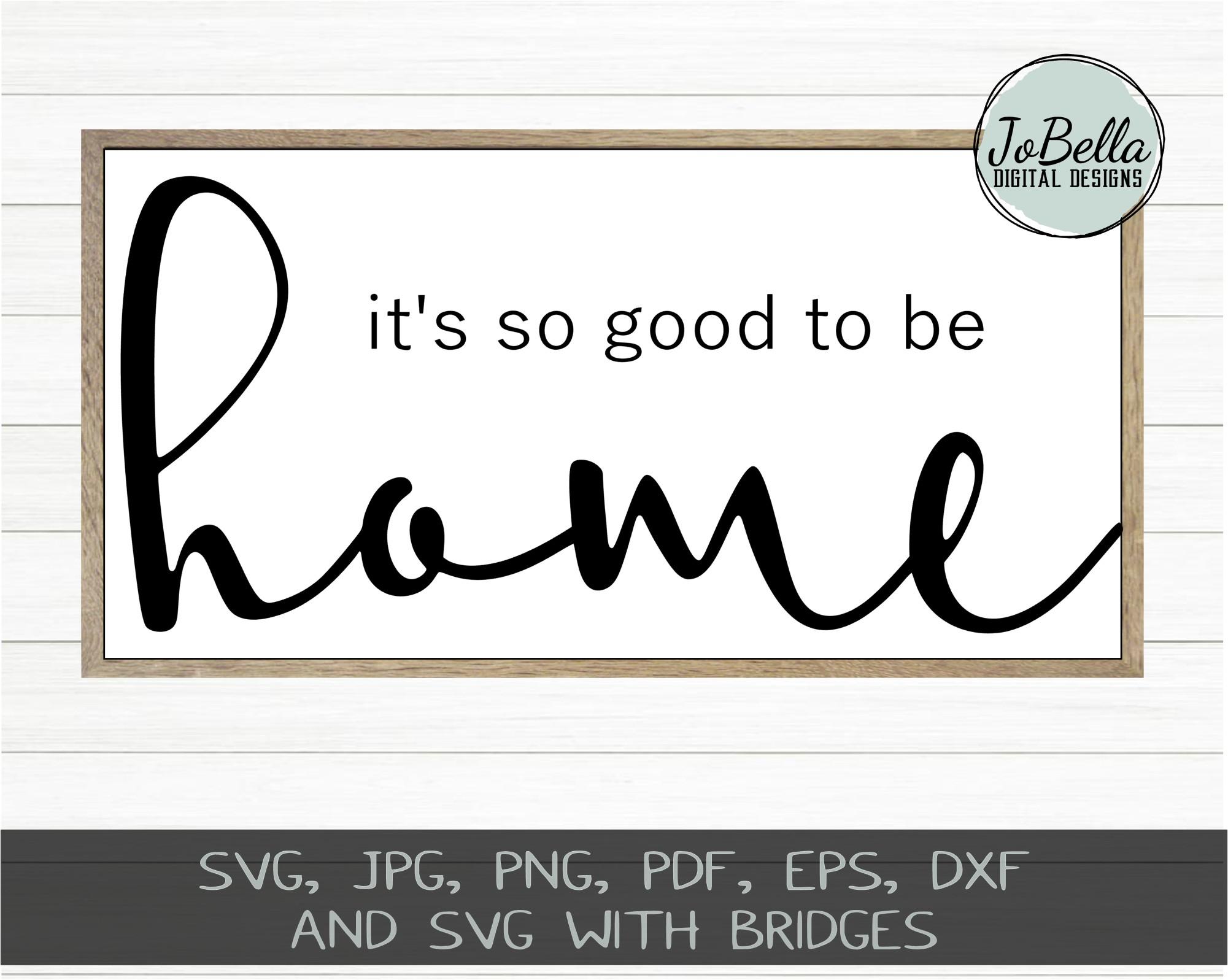 Home Wood Sign SVG Bundle - Farmhouse SVG Bundle example image 2