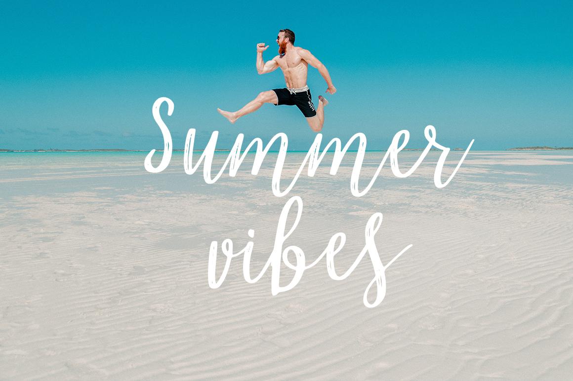 Marmelade summer font example image 4