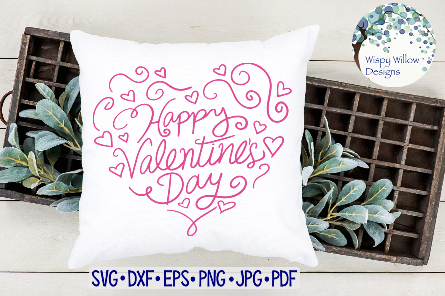 Happy Valentine's Day SVG example image 2