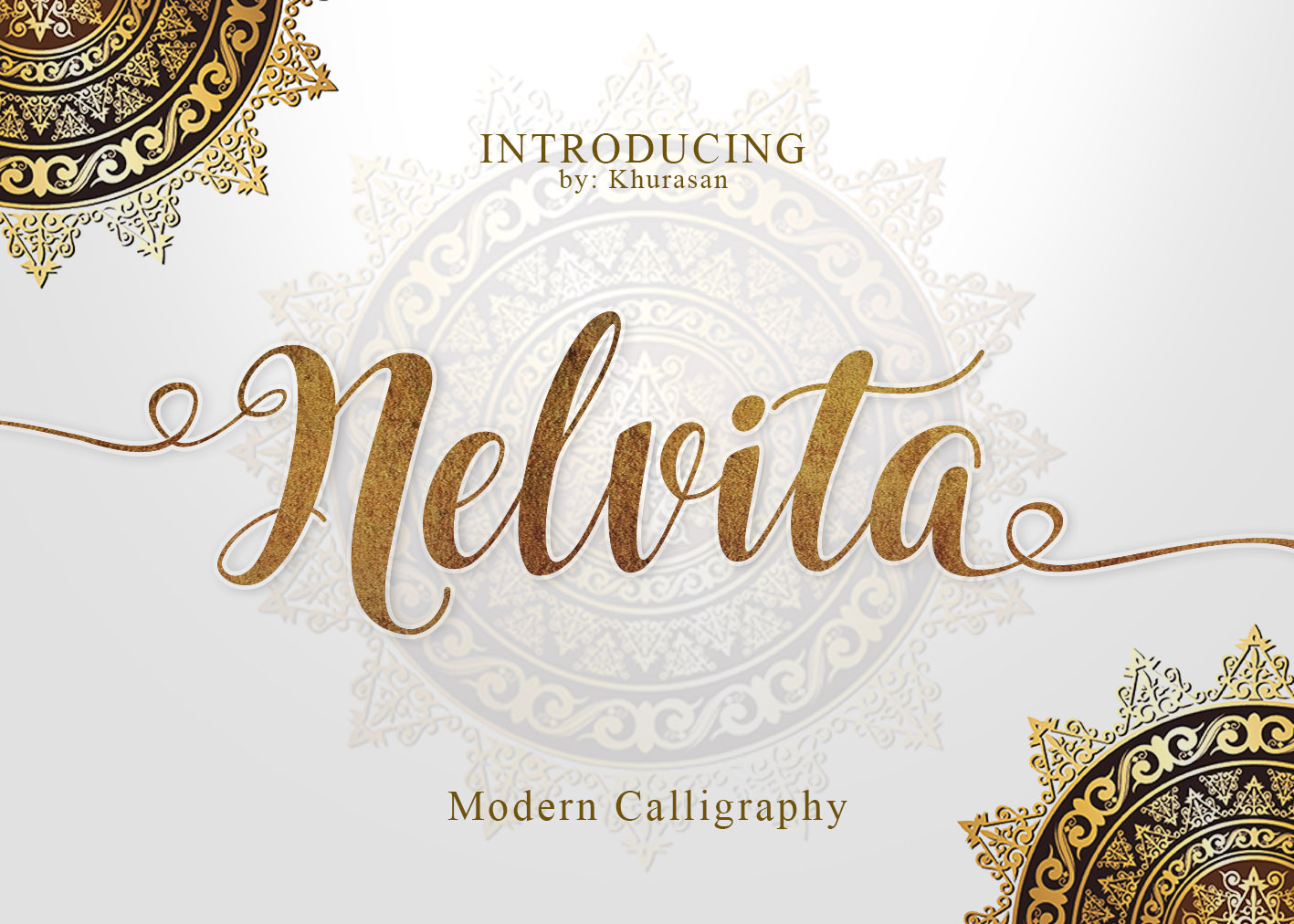 Nelvita Script (Duo Font + Extra) example image 1