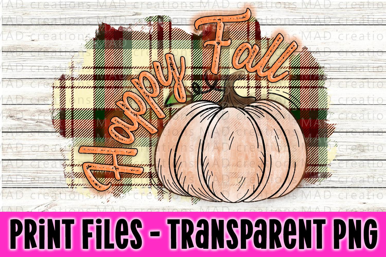 6 PNG Happy Fall Bundle - Pumpkin Bundle - Print File example image 5