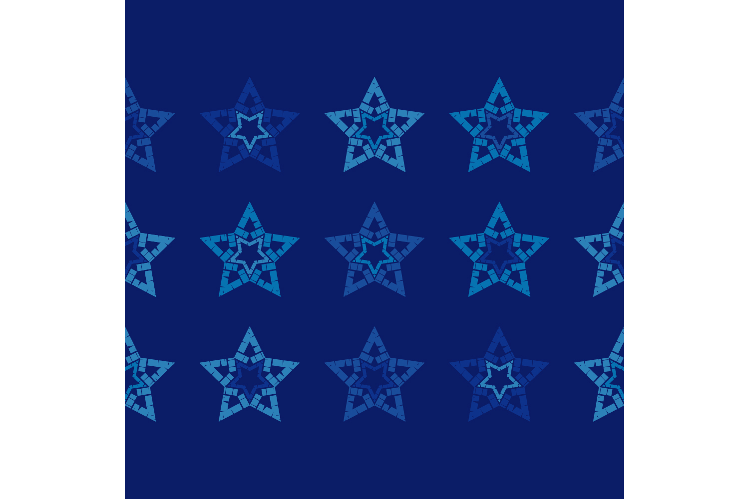 Ornament with Stars. Set of 10 seamless patterns. example image 9